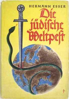 """ספרו של הרמן אסר - """"המגפה היהודית העולמית"""""""