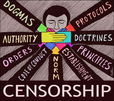 layers of censorship