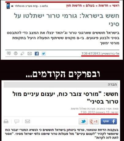 חשש בישראל